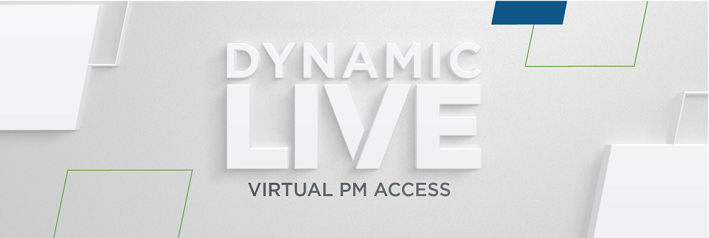 banner for Dynamic LIVE event